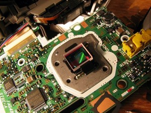 Digital camera image sensor